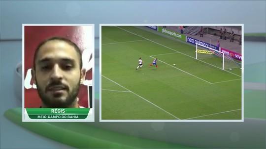 """Régis compara gol contra o Timão com o de Gabriel Jesus: """"Até na comemoração"""""""