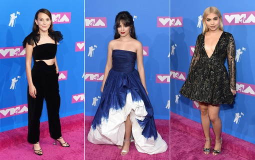 Millie Bobby Brown, Camila Cabello, Hayley Kiyoko