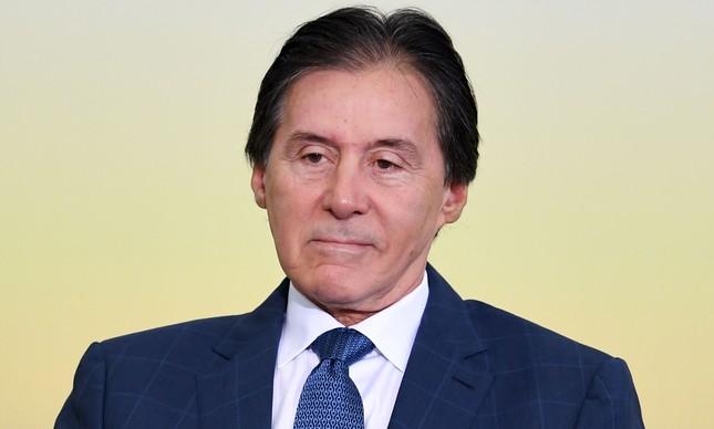O presidente do Senado, Eunício Oliveira (PMDB-CE)