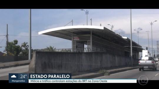 Milícia 'toma conta' de 21 estações do BRT na Zona Oeste do Rio