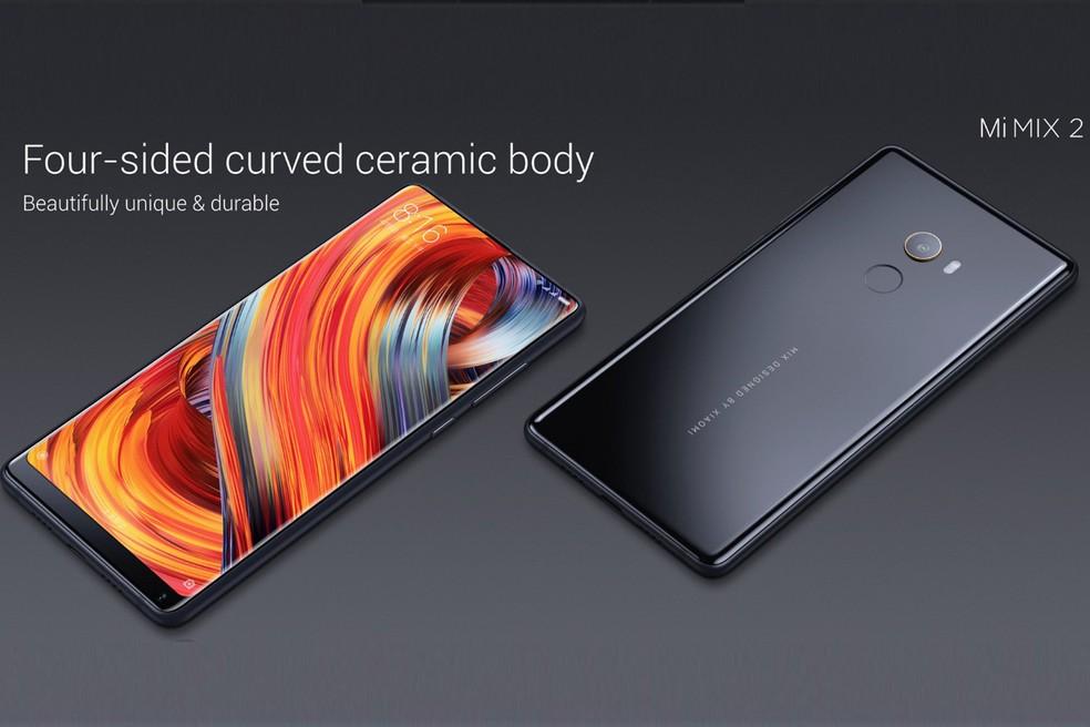 Xiaomi Mi Mix 2 tem corpo em cerâmica (Foto: Divulgação/Xiaomi)
