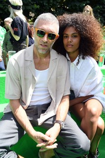 Vincent Cassel e Tina Kunakey (Foto: Getty Images)