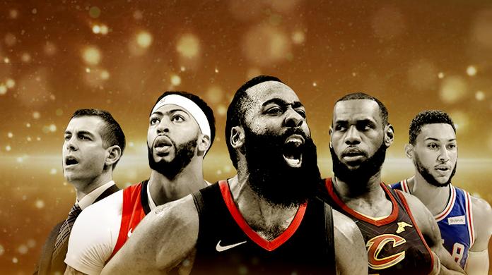 0ecd1ea65126 Harden ou LeBron para MVP  Compare e vote nos melhores da temporada da NBA