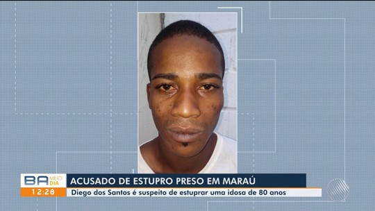 Homem é preso por estuprar idosa de 80 anos na Bahia; suspeito estava abrigado em fazenda da vítima