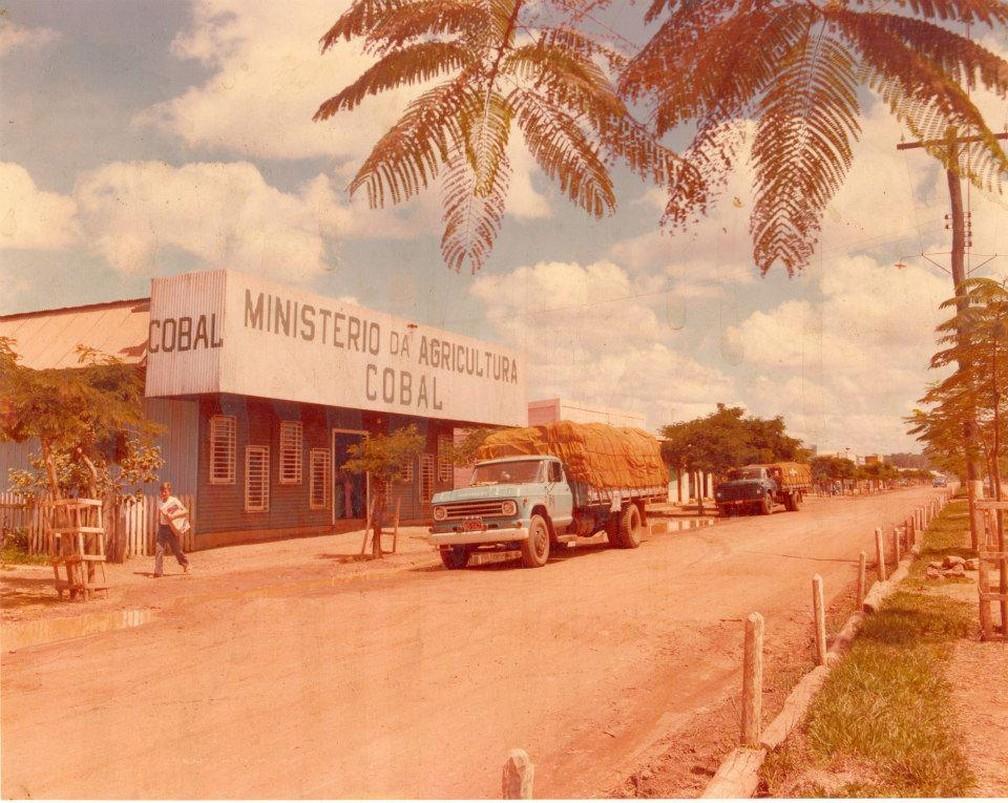 Antiga Companhia Brasileira de Abastecimentos (COBAL), vinculada ao Ministério da Agricultura — Foto: Divulgação