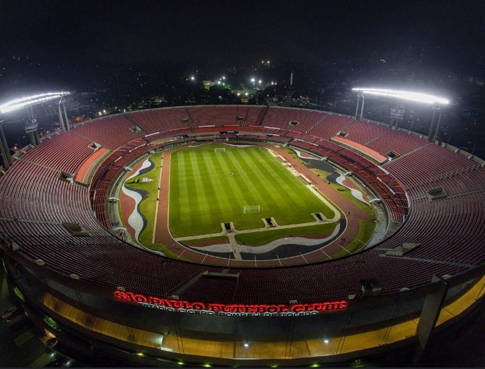 Morumbi vai receber a abertura da Copa América 2019, ou seja, um dos jogos da seleção brasileira — Foto: Igor Amorim / http://saopaulofc.net