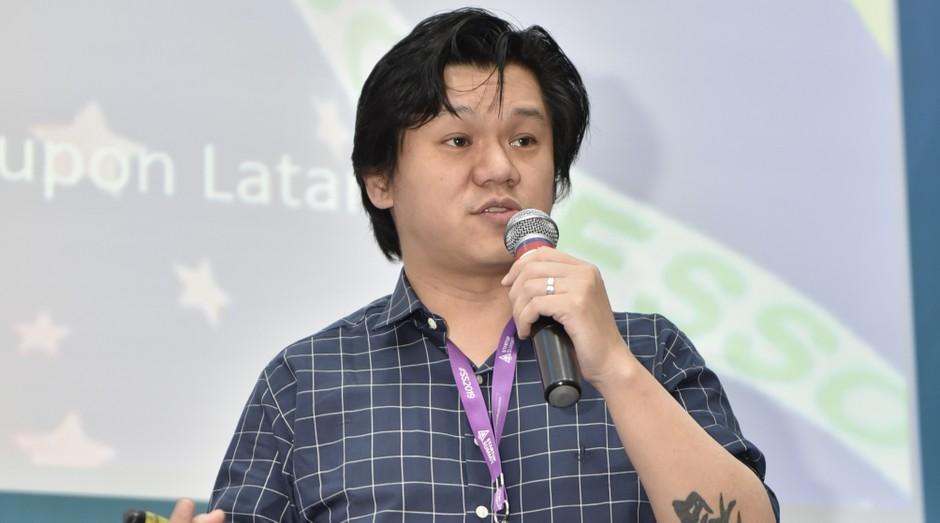 In Hsieh, do Chinnovation, falou sobre as inovações tecnológicas chinesas (Foto: Fabrício de Almeida / Imagem e Arte)