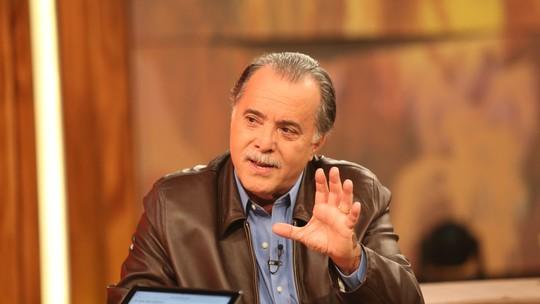 Tony Ramos faz discurso do que acredita ser o bem e o mal e internet vibra: 'Pisa Menos'