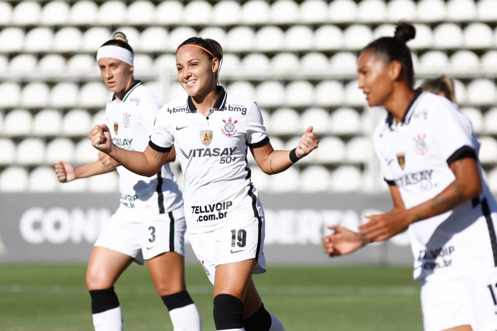 Corinthians atropela na estreia da Libertadores feminina e faz 16 gols em time do Equador