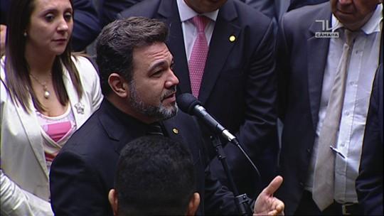 Deputado Pastor Marco Feliciano (PSC-SP) anuncia voto