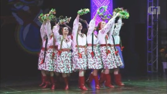 Grupo folclórico ucraniano se apresenta em Prudentópolis neste fim de semana; dicas