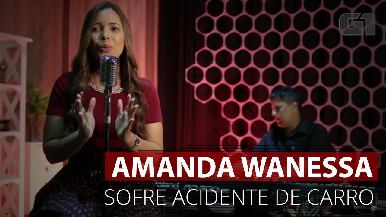 VÍDEO: Carro de Amanda Wanessa ficou destruído após grave acidente na PE-60
