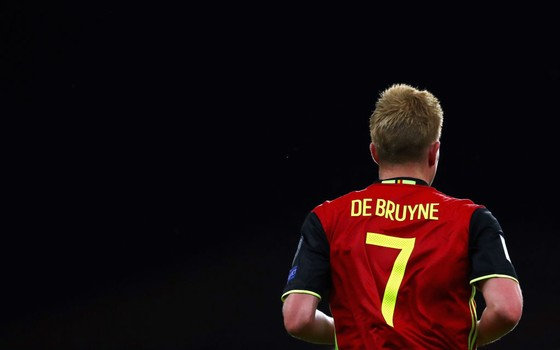 Kevin De Bruyne. Expoente de uma badalada safra de jogadores, o meia será determinante para o sucesso da Bélgica na Copa (Foto: Getty Images)