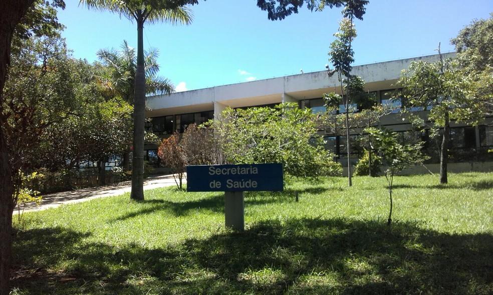 Sede da Secretaria de Saúde do DF no fim da Asa Norte — Foto: Graziele Frederico/G1