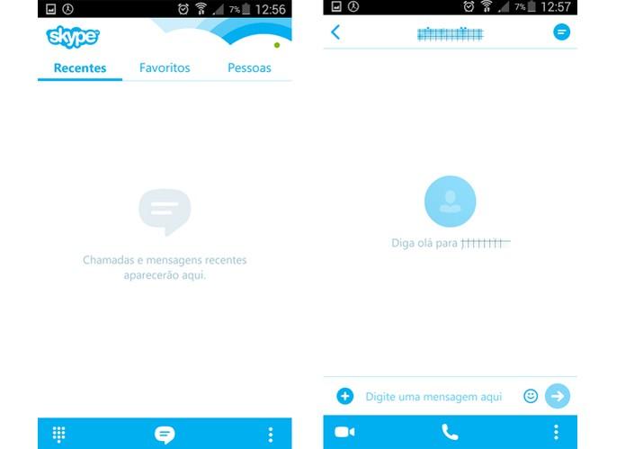 Skype é um popular app para fazer chamadas de vídeo e enviar mensagens (Foto: Reprodução/Barbara Mannara)