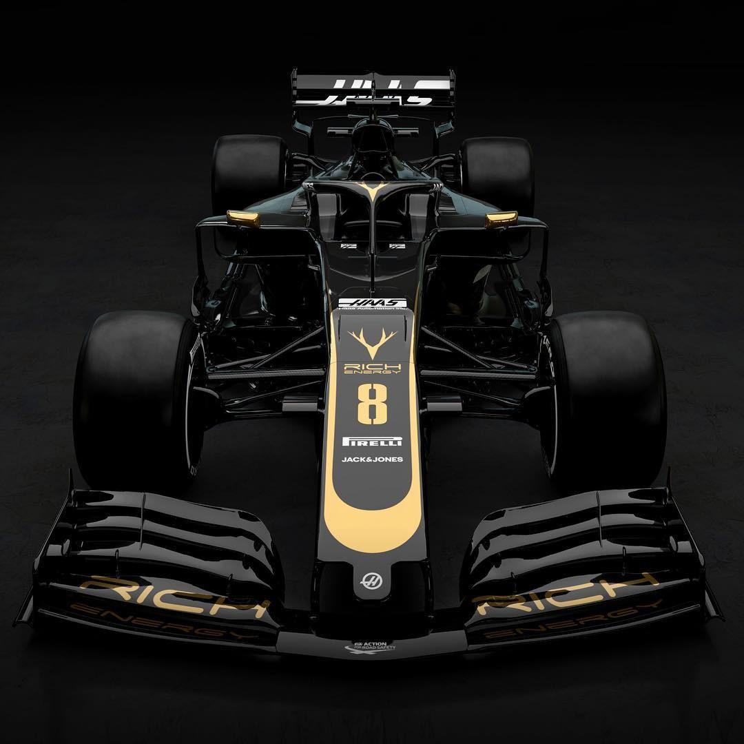 Haas VF-19 (Foto: Reprodução: Instagram)