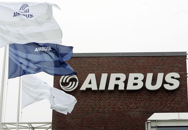 Escritório da empresa de aviação Airbus em Hamburgo, na Alemanha (Foto: Malte Christians/Getty Images)