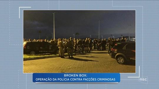 Polícia deflagra operação contra chefes de organização criminosa