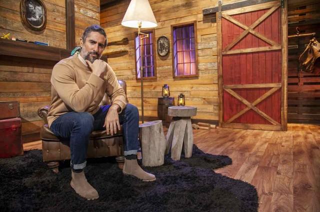 Marcos Mion apresenta 'A fazenda' (Foto: Divulgação/RecordTV)
