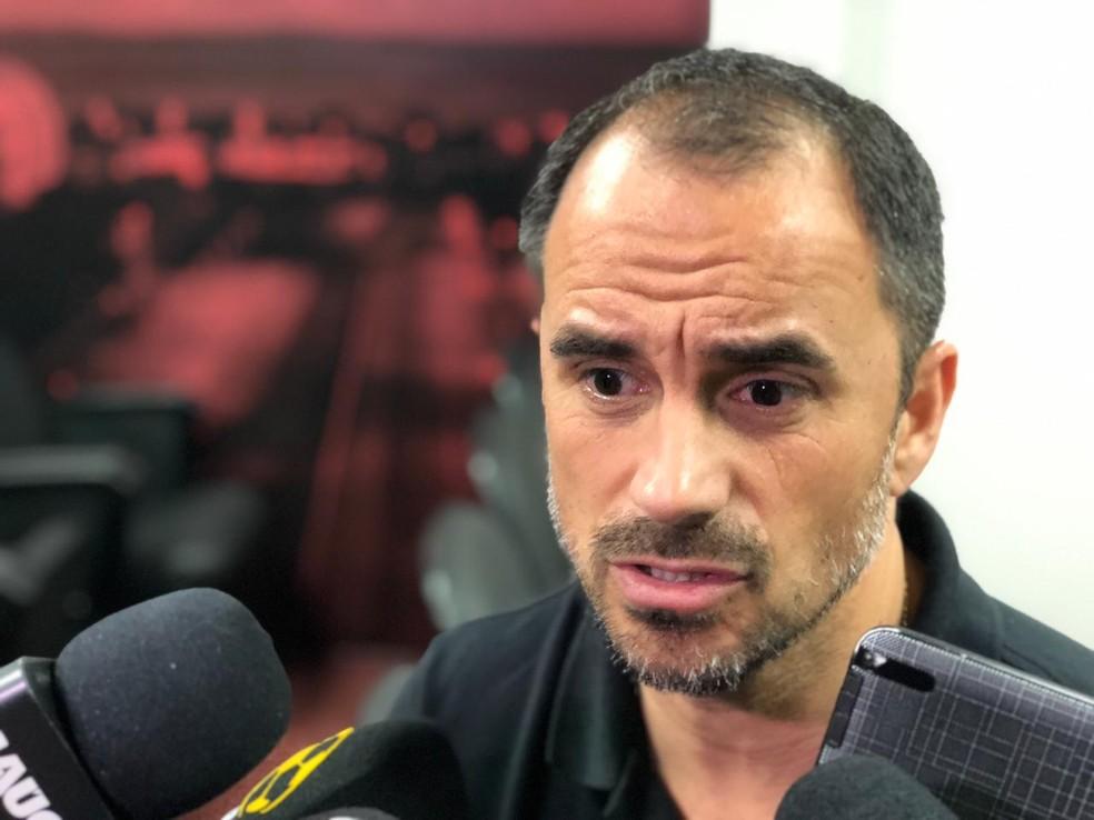 Rodrigo Caetano está no Internacional e tem contrato até o fim de 2019 — Foto: Eduardo Deconto