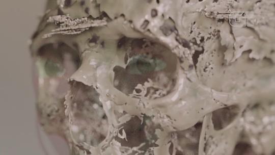 Pesquisadores recriam rosto da múmia egípcia de mais de 2,5 mil anos encontrada em Cerro Largo