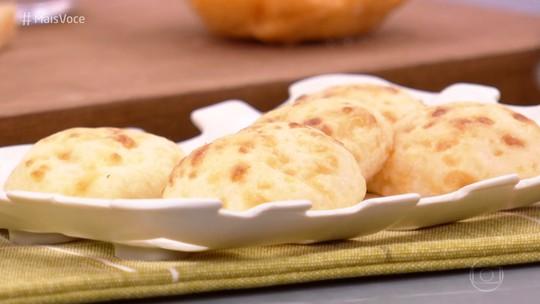 Pão de Queijo 3 Ingredientes