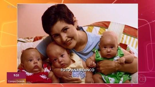 Fátima Bernardes relembra nascimento prematuro dos filhos e angústia com internação na UTI