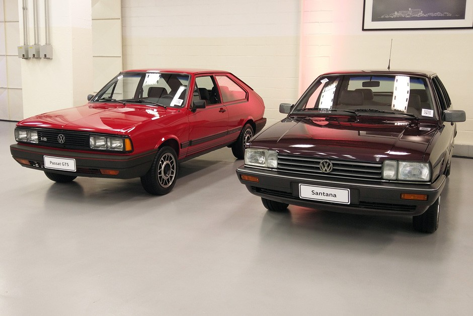 VW Santana foi restaurado ainda em 2019 (Foto: Ulisses Cavalcante/Autoesporte)