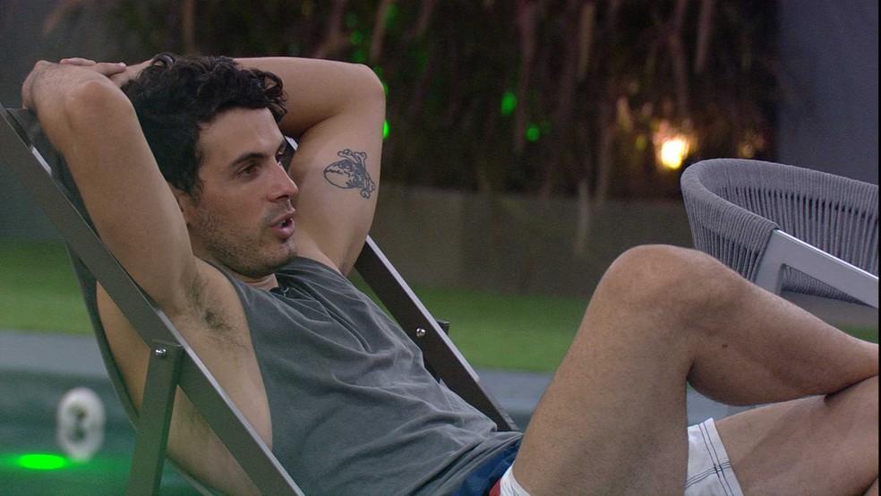 Maycon e Danrley fazem planos com prêmio do BBB — Foto: TV Globo