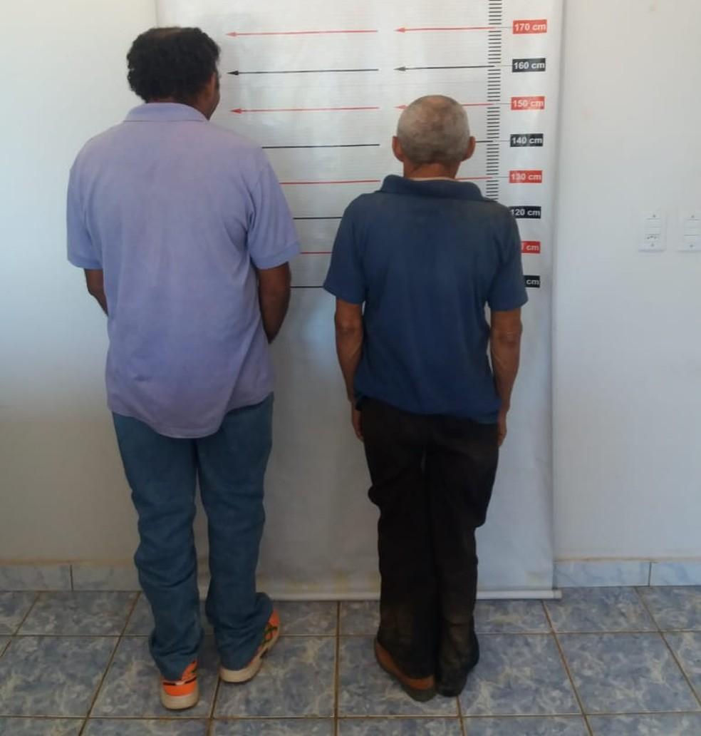 Irmãos teriam estuprado a criança com síndrome de down — Foto: Divulgação/Polícia Civil