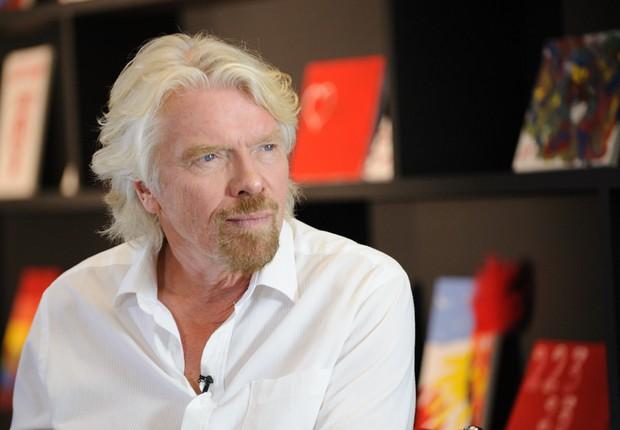 Sir Richard Branson, o fundador da Virgin (Foto: Divulgação)