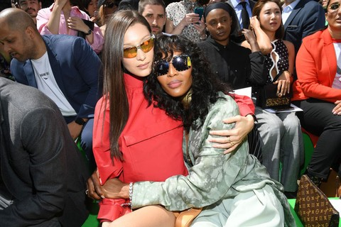 Bella Hadid e Naomi Campbell (Foto: Getty Images)