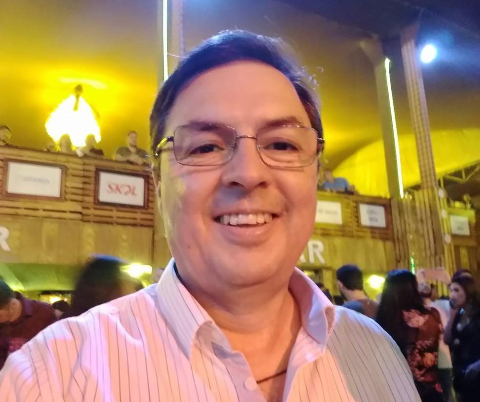 Jornalista Fernando Soares morre por complicações da Covid-19, aos 53 anos, em Campina Grande — Foto: Reprodução/Whatsapp