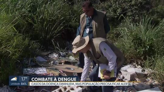 DF está em situação de alerta para dengue, zika e chikungunya, adverte ministério