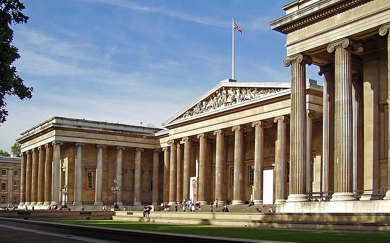 Museu Britânico, em Londres (Foto: Ham/Wikimedia Commons)