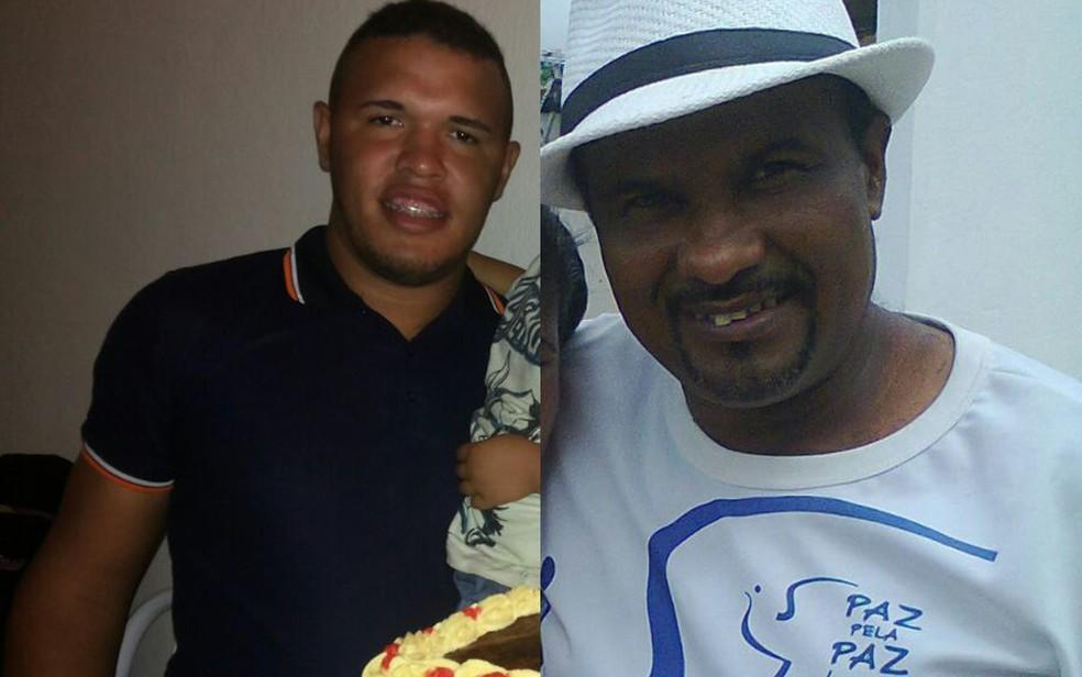 Alisson Barbosa de Souza (esq.) e José Vicente da Silva (Foto: Reprodução/Acervo Pessoal)
