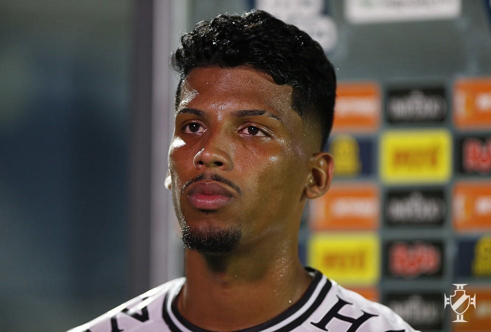 Laranjeira estreou pelo Vasco contra a Portuguesa — Foto: Rafael Ribeiro/Vasco
