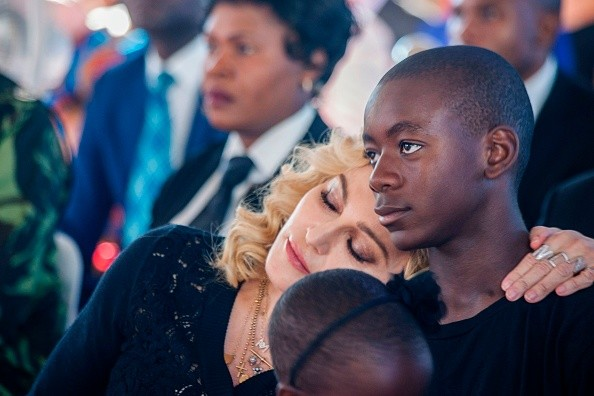 Madonna e David Banda (Foto: Getty Images)