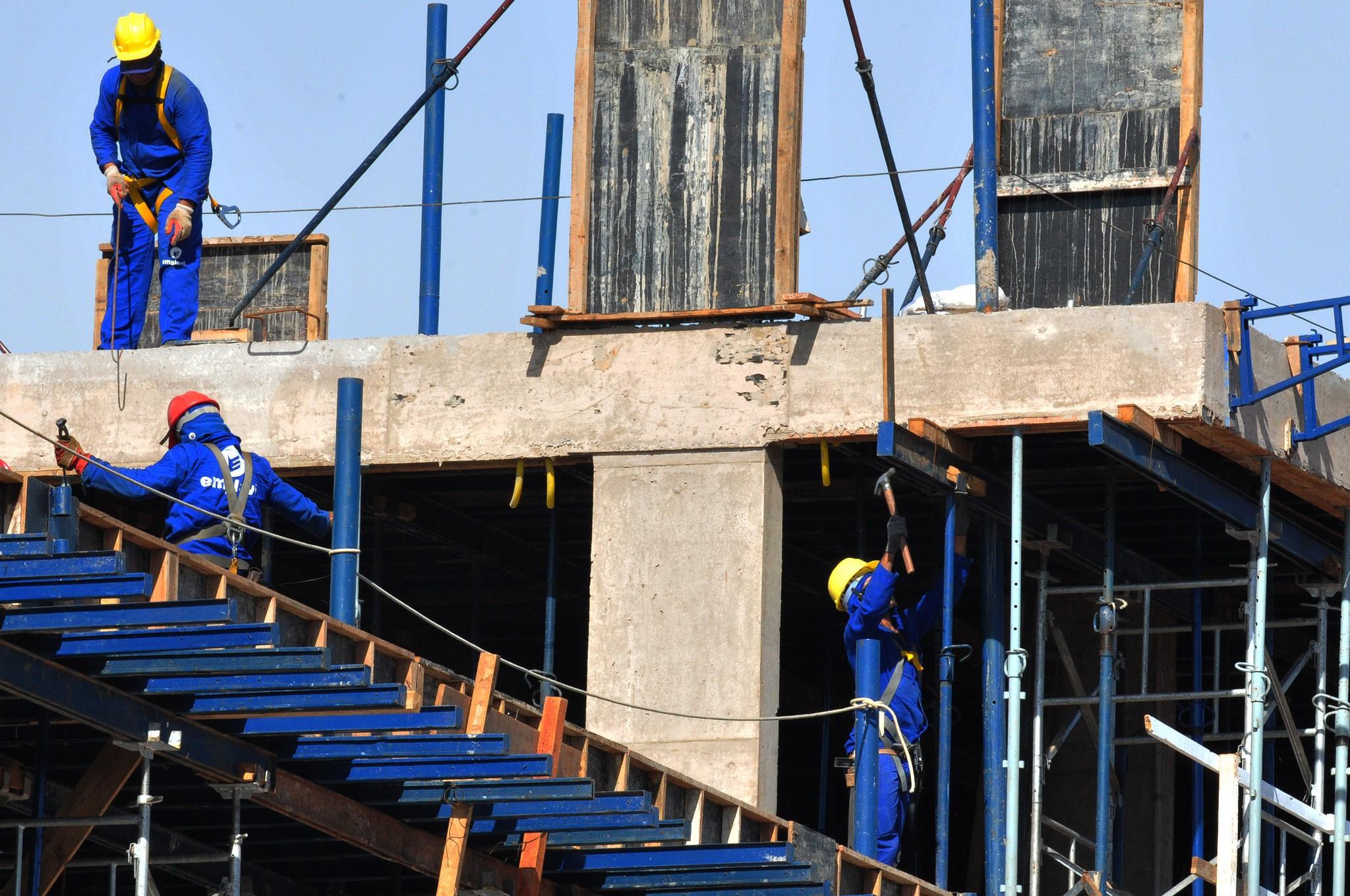 Construção civil abre 130 vagas de emprego em Araraquara