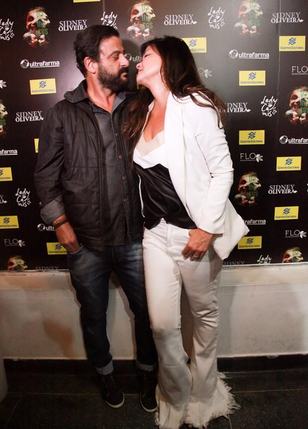 Cristiana Oliveira e o namorado, Sergio (Foto: Marcos Ribas/Brazil News)