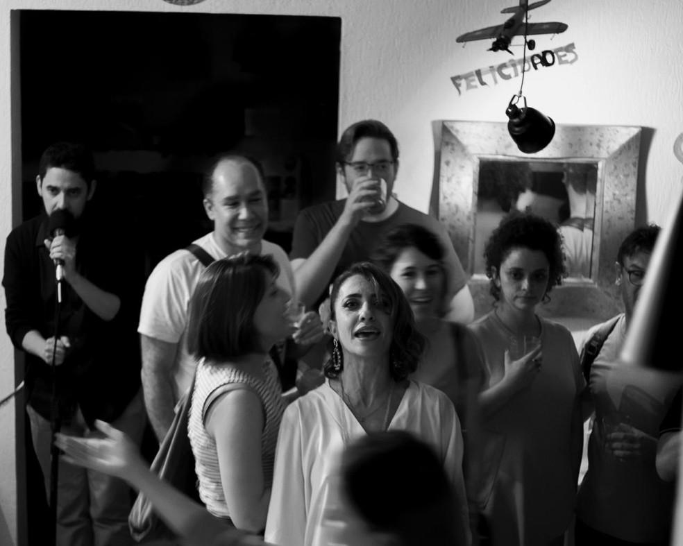 Tributo a Vinicius de Moraes reúne música, histórias e interação com o público — Foto: Giuliana Vinci