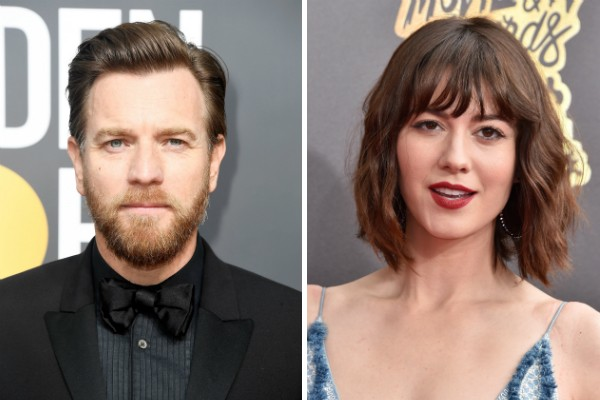 O ator Ewan McGregor e a atriz Mary Elizabeth Winstead (Foto: Getty Images)