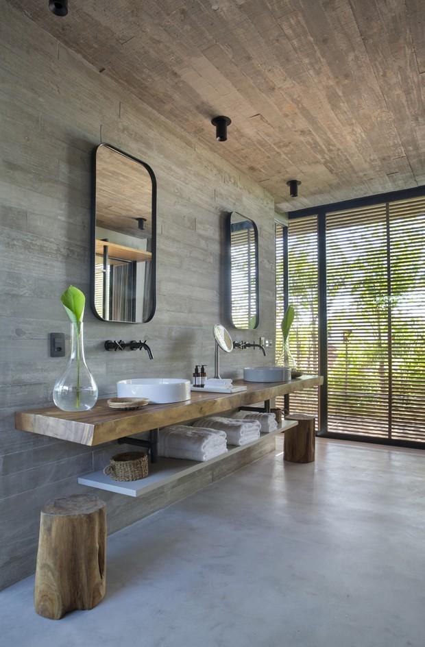 Novo hotel de luxo em Jurerê tem bangalôs com piscinas privativas (Foto: Divulgação)