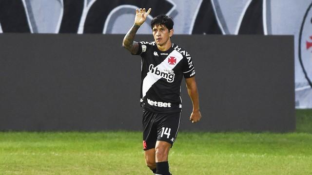 Cano marcou duas vezes contra o São Paulo