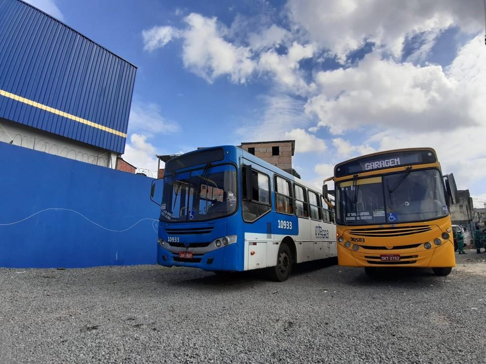 Tarifas dos ônibus do transporte coletivo de Salvador não devem sofrer reajustes no início de janeiro, disse Bruno Reis — Foto: Raphael Marques/TV Bahia