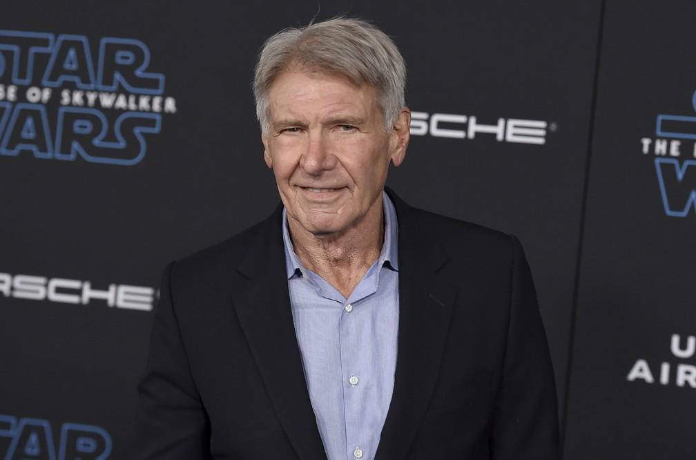 "Mark Hamill na pré-estreia do filme ""Star Wars: A Ascensão Skywalker"" — Foto: Jordan Strauss/Invision/AP"