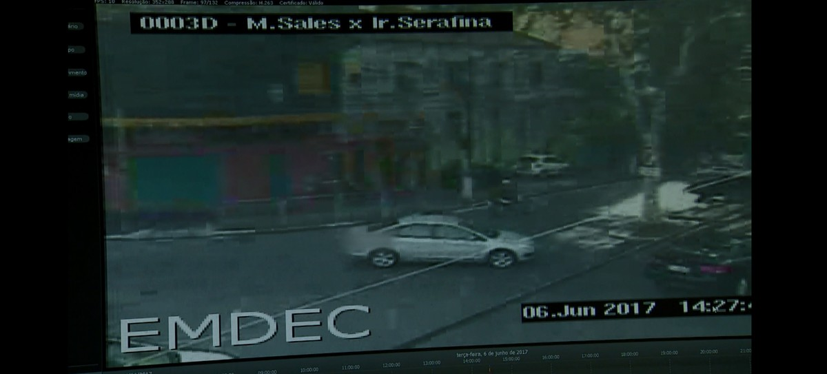 Emdec emite 232 multas no 1º mês do monitoramento por câmeras; estacionamento irregular é o nº 1