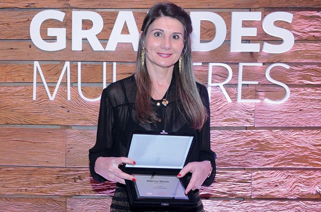 Márcia Werle, 45 anos, fundadora e presidente da Biotechnos (Foto: Katia Lessa)