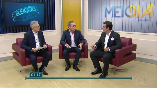 João Arruda rebate blindagem de Temer e propõe reforma fiscal em entrevista ao Meio-Dia Paraná