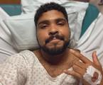 Paulo Vieira internado no hospital | Reprodução/Twitter